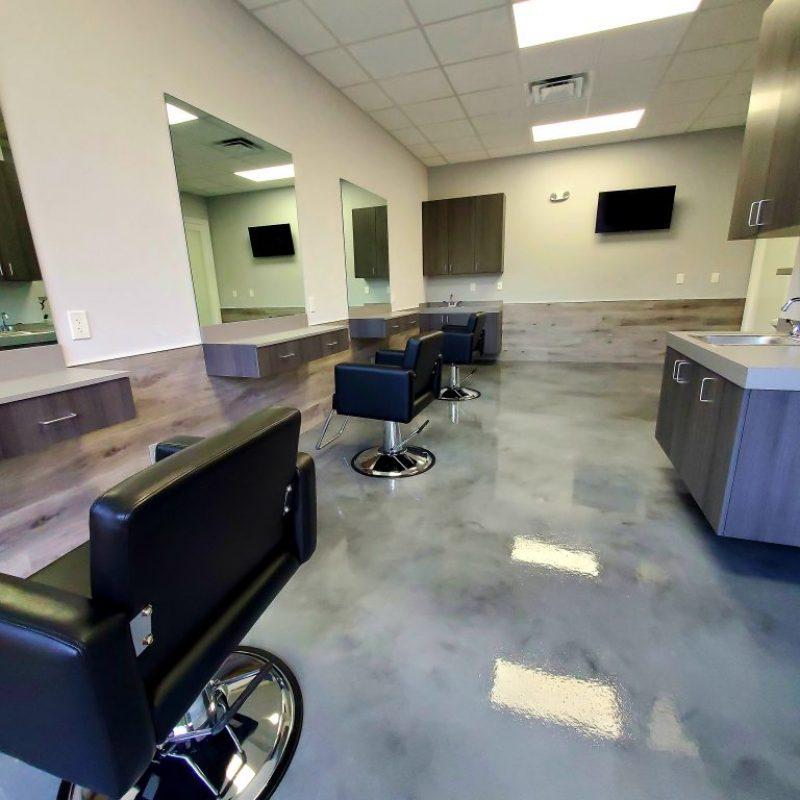 Salon Suites of Palm Beach interior photo