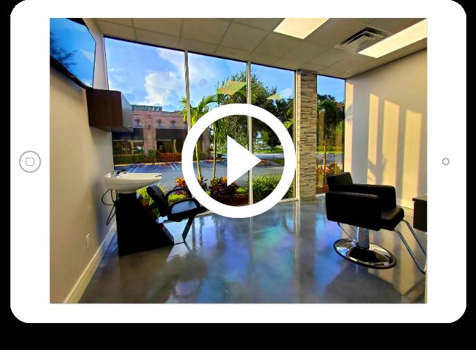 Salon Suites of Palm Beach promo video