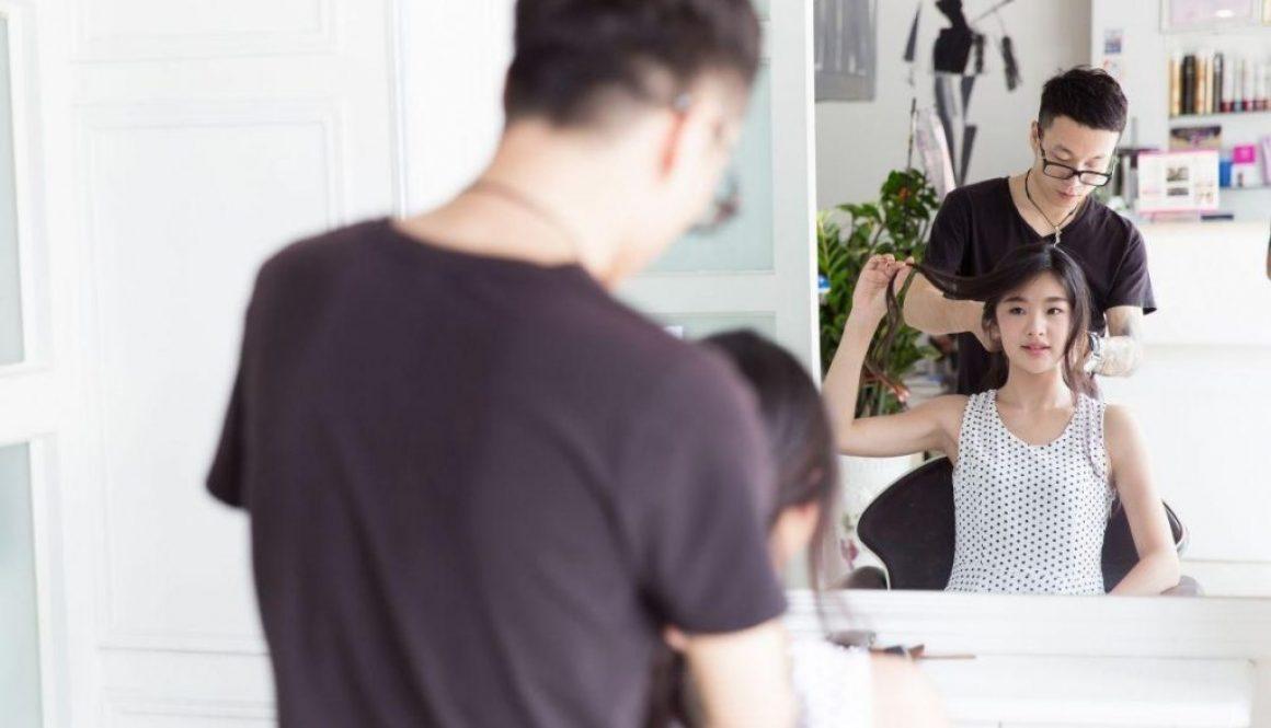 Korean leady avail korean perm in salon
