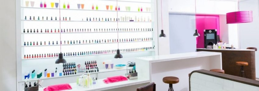 Profitable and nice hair salon landscape picture