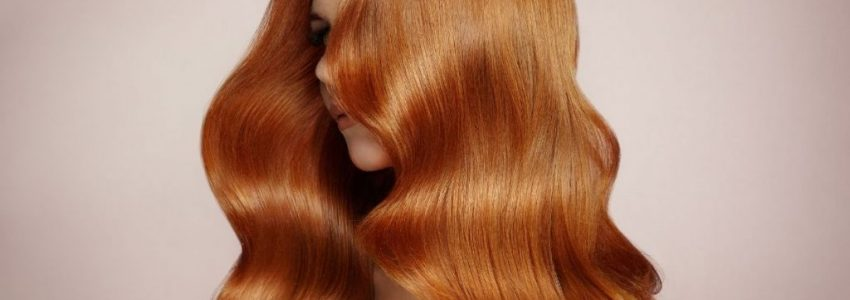Young woman took a stunning picture of her hair
