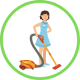 Regular cleaning and disinfecting services.